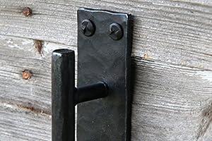 Barn Door Hardware  Our Barn Door Handle Is A Black Door Pull Handle Rustic Door  Pull Handle