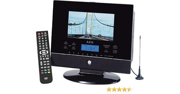 AEG CTV 4889 - Televisor portátil (LCD, 17,8 cm (7 pulgadas ...