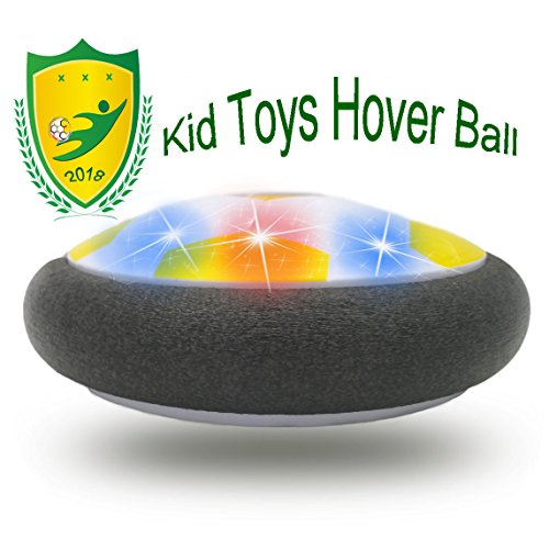Happy Gift Interesting Hover Football for Kids, Best Toys for Boys Gifts 10 Years Old Gifts for Girl 8 Year Old to Outdoor Play with Friend(Style2Yellow)