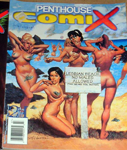 Penthouse Comix Comic, July 1997 Large Glossy Sexy Magazine/Comic book 8x11 inches