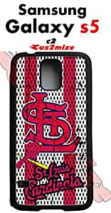 St. Louis Cardinals Samsung Galaxy s5 Case Hard Silicone Case