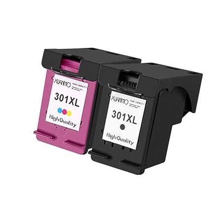 Cartucho de tinta compatible con HP 301XL de alta capacidad HP1000 ...
