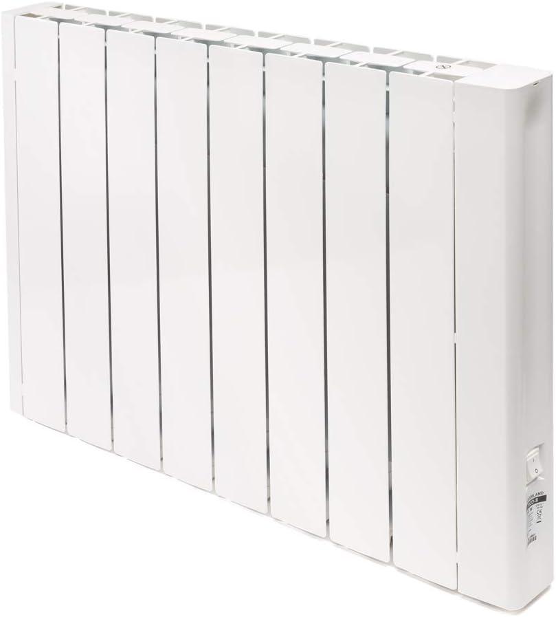 HAVERLAND RCO-8 | Emisor Térmico Fluido Bajo Consumo | 1500W | Programación con Conexión Inalámbrica Bluetooth | Diseño Ultra-Compacto | Blanco
