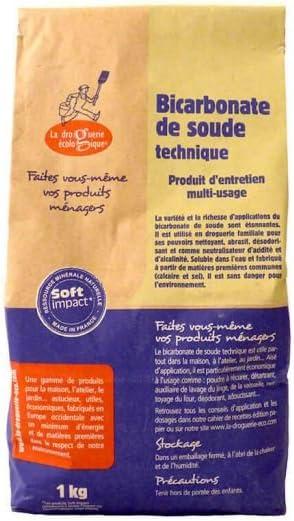 La droguerie écologique 4150 - Bicarbonato sódico, 1kg: Amazon.es ...