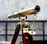 Antique House Desk Telescope With Stand Gift Nautical Balcony Telescope Gift