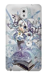 S1915 Hatsune Miku Vocaloid Yuki Snow Miku Case Cover For Samsung Galaxy Note 3