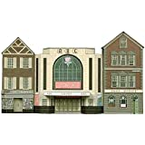 Superquick 1:72 Cinema, Post Office and Shop - Low Relief Card Kit C2