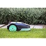IKOHS-CUTBOT-Rasaerba-robotizzato-Automatico-con-Batteria-Superficie-del-Prato-Fino-a-500-m-Pendenza-Massima-Fino-al-30-4-Lame-orientabili-per-Un-Taglio-del-Prato-preciso-e-Silenzioso-Nero