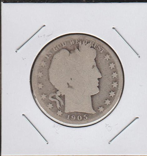 1905 S Barber or Liberty Head (1892-1915) Half Dollar About Good
