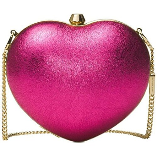 Michael Kors heart clutch