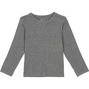 Shedo Lane Kids Sun Protective Long Sleeve T Shirts UPF 50+ UV SPF Sun Protection Tee Heather Gray 8-10