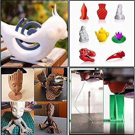 ACENIX® - Bobina de filamento 3D PLA de 1,75 mm, 1 kg, para ...