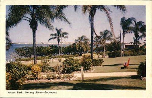 Anzac Park Palmerston North, New Zealand Original Vintage Postcard