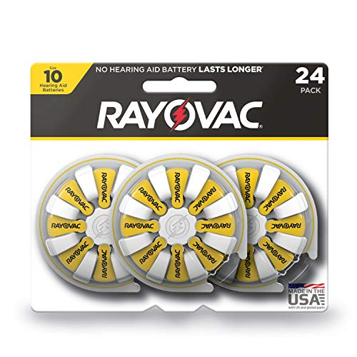 Rayovac Hearing Aid Batteries Size 10 (24-Pack) ()