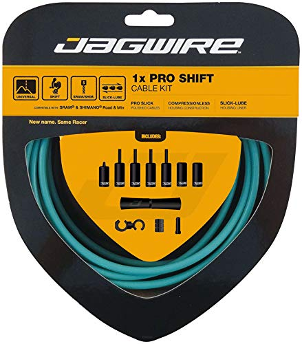 Jagwire 1x Pro Shift Kit Road/Mountain SRAM/Shimano, Celeste by Jagwire