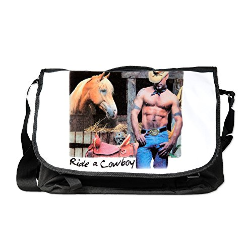 Royal Lion Laptop Notebook Messenger Bag Country Western Cowgirl Save A (Save A Horse Ride A Cowboy Costume)