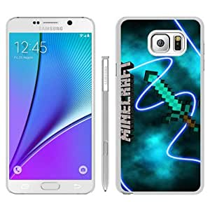 Samsung Galaxy Note 5 Case ,Unique And Durable Designed Case With Minecraft 04 White Samsung Galaxy Note 5 Cover Case Custom Designed Phone Case