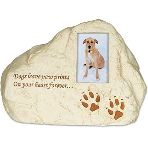 Dog Paws PolyStone Cremation Urn - Dogs Leave Paw Prints...