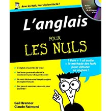 ANGLAIS POUR LES NULS +CD AUDIO