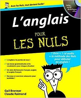Amazon Fr L Anglais Pour Les Nuls Gail Brenner Claude