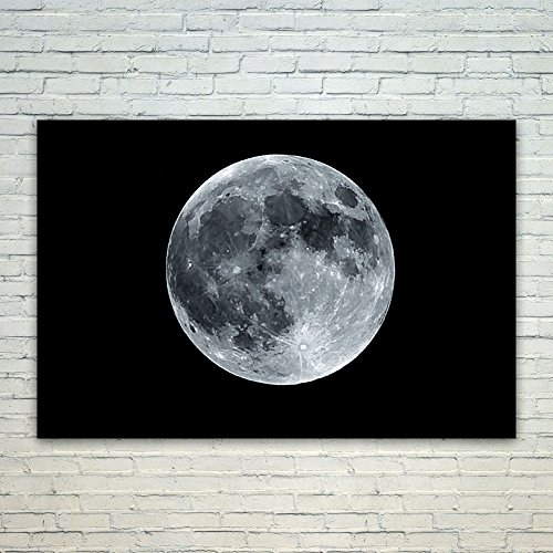 Westlake Art Moon Lunar   12X18 Poster Print Wall Art   Modern Picture Photography Home Decor Office Birthday Gift   Unframed 12X18 Inch  269C 84Bbd