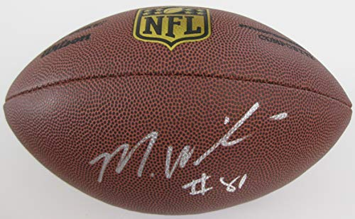 Mike Williams LA Los Angeles Chargers signed autographed NFL Duke Football, COA with the proof photo of Mike signing will be included