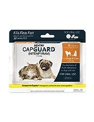 SENTRY Capguard (nitenpyram) Oral Flea Tablets, 2-25 lbs, 6 C...