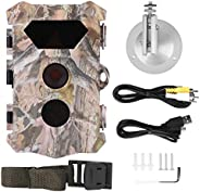Monitoring Camera, Intelligent Camouflage Waterproof Camera, Plastic for Animal Observation Security Surveilla