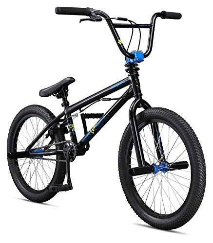 Mongoose Boys Legion L10 Bicycle, Black, One Size/20