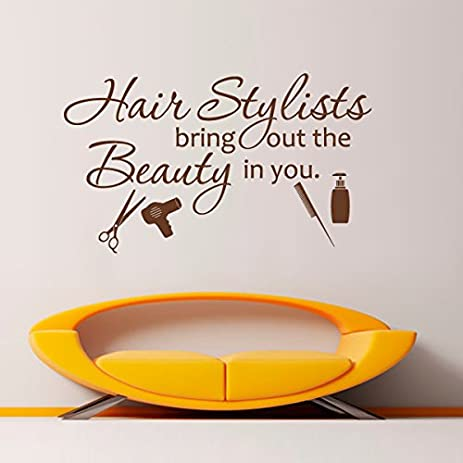MairGwall Hair Salon Beauty Quote ¡Hairstylists Bring Out The Beauty In You  ¡¯