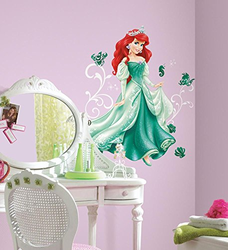 Disney - Princess Ariel Peel and Stick Giant Wall Decals 18 x 40in by Poster Revolution