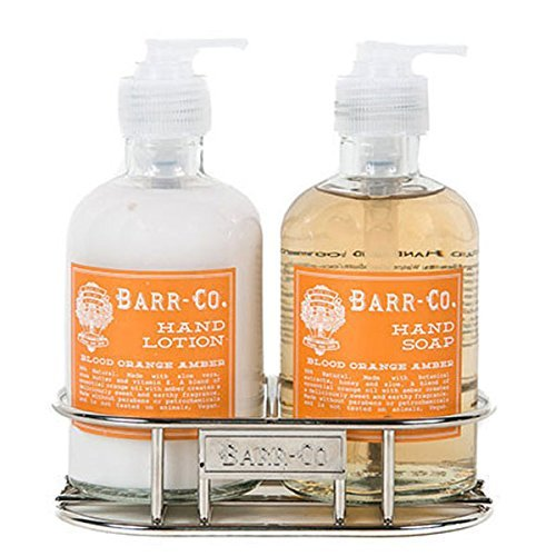 Barr Co Blood Orange Amber Hand & Body Duo with Caddy by k hall designs Review