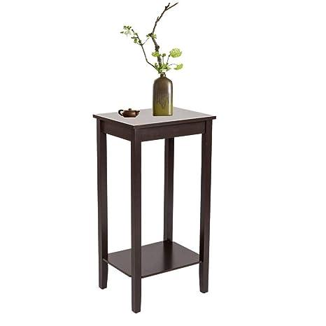 Amazon.com: Mesa auxiliar de café con cremallera y extremo ...