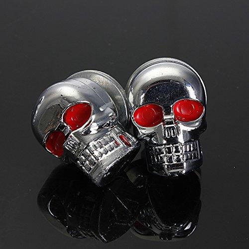 Alamor Skull Moto Atv Arri/ère Feu Arri/ère Clignotant Plaque De Frein