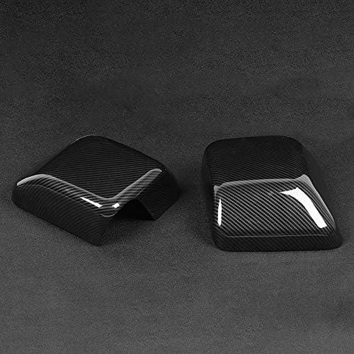 2 pi/èces Protecteur de r/étroviseur daile lat/érale Couverture de r/étroviseur Garniture Accessoires de Miroir Automatique SLONGK pour Jeep Wrangler JL 2018