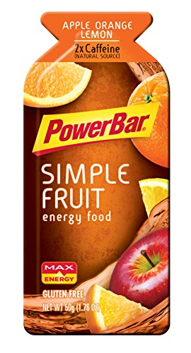 PowerBar Gluten Free Simply Fruit Energy Food, Apple Orange Lemon, 12 Count