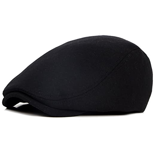 f6a84222268 Beret-Hat-for-Men-French Newsboy-Flat-Gatsby-Cap Cotton-Adjustable ...