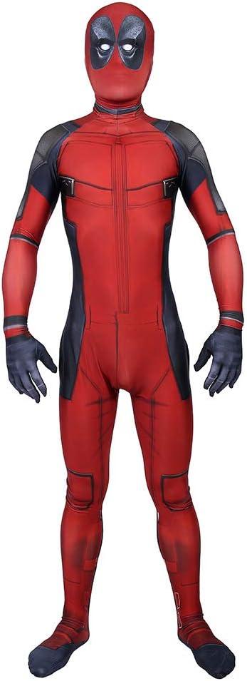 Traje de Deadpool Avengers, Cosplay Medias siamesas Ropa de ...