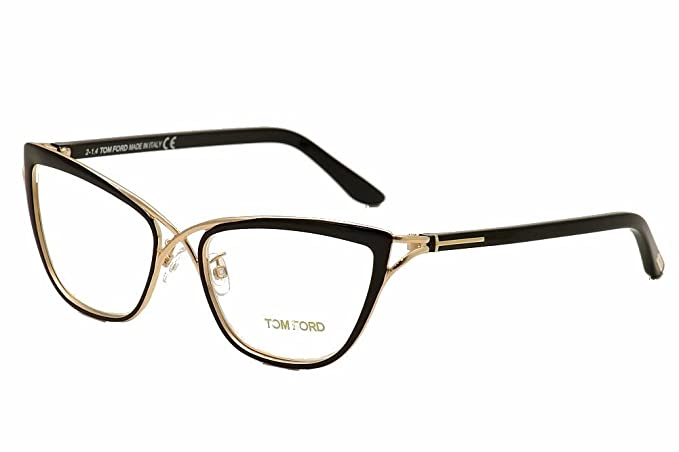 766e8f9d79abdc Tom Ford TF5272 Butterfly Metal Eyeglasses FT5272