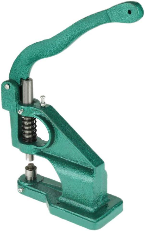 1 Handpresse 6//10//12 mm /Ösenlochmaschine Presslochwerkzeug Banner /Ösenmaschine mit 3 Schablonen und 1500 T/üllen Lochmaschine
