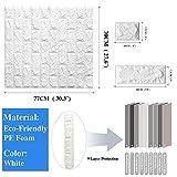 LEISIME 10PC 3D Wall Sticker Self-Adhesive Wall
