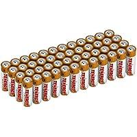 48-Pack Tenergy AA Size (LR6) Alkaline Batteries