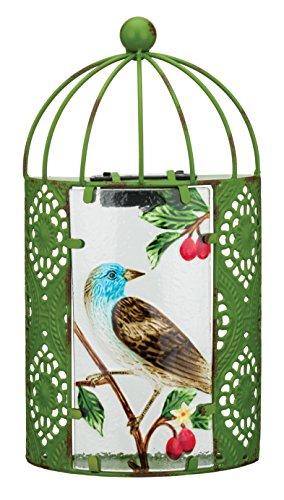 Regal Art & Gift 11629 Solar Bird Sconce Wall Decor, Green