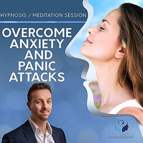 Overcome Anxiety & Panic Attacks Self Hypnosis MP3 / App and CD (3 in 1 Purchase - Sound Therapy) ... (Best Meditation App For Anxiety)