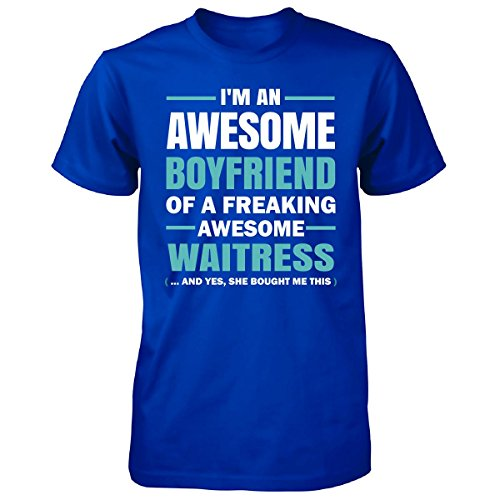 Awesome Boyfriend Of A Waitress - Unisex Tshirt