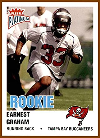 2003 Fleer Platinum #231 Earnest Graham RC ROOKIE TAMPA BAY
