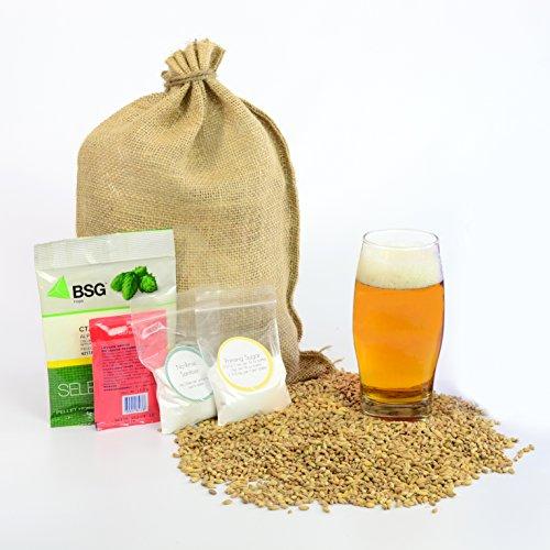 (1 Gallon Home Brewing Homebrew Recipe Kit, Bootlegger Rye IPA, 5.9%)