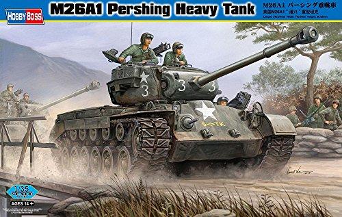 Hobby Boss M26A1 Pershing Heavy Tank Vehicle Model Building Kit