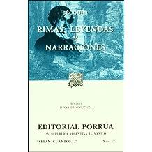 Rimas Leyendas Y Narraciones (portada puede variar)