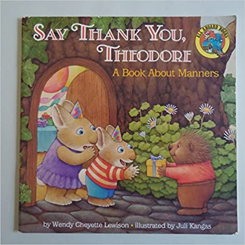 Book Say Thank You Theodo (All-Aboard Book)